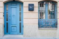 Blue Windows House Image